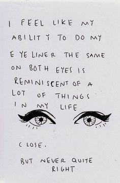 eyeliner dilemma