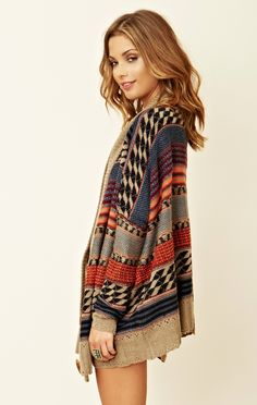 dakota oversized cardigan.