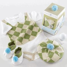 Baby Golf Outfit - Newborn Gifts Set
