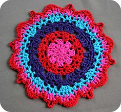 Ravelry: Not your Grandmas Doily pattern by Janette Williams
