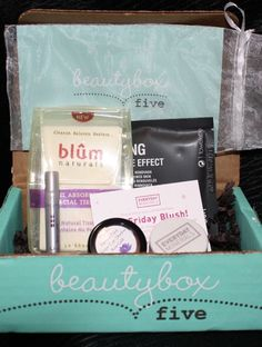 beautyboxfive monthly beauty subscription