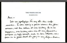 President Obama Sends Handwritten Apology To Art History Professor