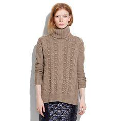 Love this!   Turtleneck Sweater/ Madewell.com