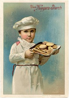 Vintage Baker Boy Image