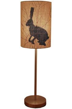 Hare Lamp ⎮ Helen Minns