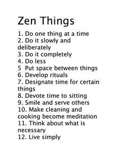 What is zen. Zen is zen.