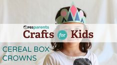 Cardboard Crowns | Crafts for Kids | PBS Parents