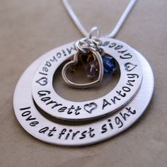 Love At First Sight Double Loop Necklace