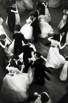 Henri Cartier-Bresson, Queen Charlotte's Ball, London, England, 1959, gelatin silver print