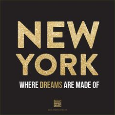 #NYC Where Dreams Are Made Of