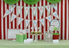 Happy Birthday Jesus party for kids with FREE printables