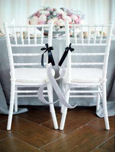 Love these bride & groom chairs: http://www.stylemepretty.com/2013/11/22/russian-wedding-from-max-koliberdin/ | Photography: Max Koliberdin - http://maxkoliberdin.com/