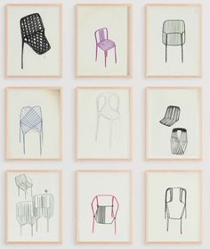 Paintings by Studio Bouroullec