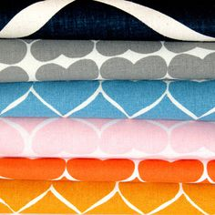 Umbrella Prints new I Heart Projects #3 100% organic fabric