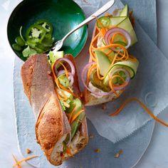 Mixed-Veggie Bánh Mì Recipe