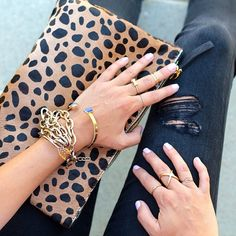 purs, accessori, bag, animal prints, leopard prints, leopard clutch