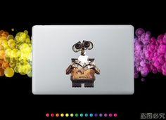 Wall-e mac decal