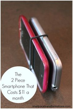Save money on your cell phone bills yet still have most of the convenience of a smartphone.