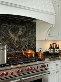Love this stove and the copper....