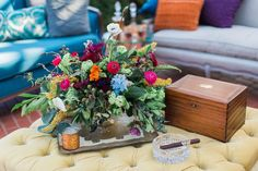 Jewel toned wedding