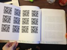 Using QR codes in the classroom for math review videos.