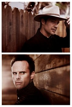Raylan and Boyd, Justified watch, thing