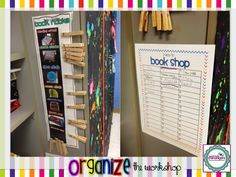 Throwback Thursday: Reader's Workshop I like this book nook sign better than my current board.