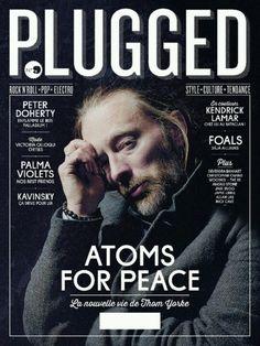 Plugged #magazine #revista #cover #capa #design #editorial