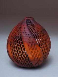 wood art, wood sculpture art, gourd art, paul fennel, woodwork