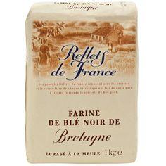 """farine de blé noior de """"Reflets de France"""" buckwheat flour"""