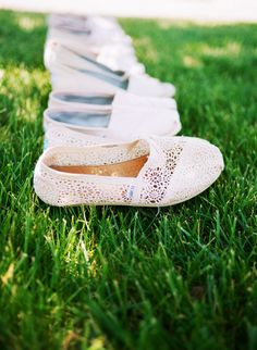 TOMS for the bridesmaids