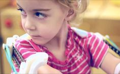 3D printer gives two-year-old girl with rare congenital disease support to use her arms for the first time.