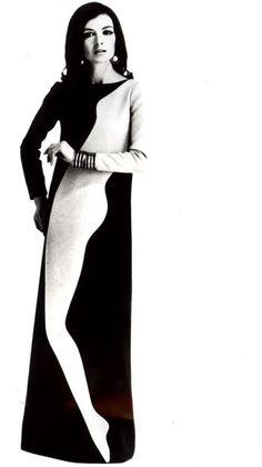 Just fab.  Yves Saint Laurent, 1966.