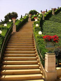 Stairway to Heaven - Bahá'í World Center, Haifa.