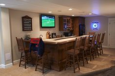 The ultimate basement bar! #mancave