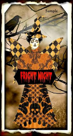 Halloween #halloween witch altered art