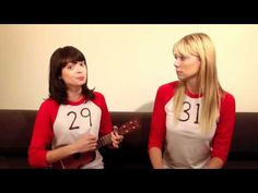 One of my favorite you tube videos. Garfunkel and Oates play the same woman, 2 years apart.