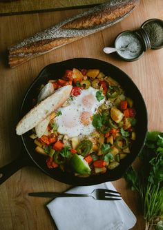 Breakfast Skillet via A Thought For Food
