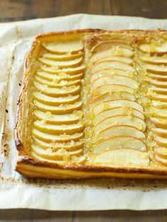 Ginger-Apple Tart #thanksgiving #holidays #desserts #apple