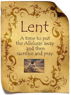 spiritual practices of lent