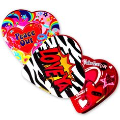 3.2 oz #chocolate heart #candy boxes.  Just $1.99   #fivebelow #valentinesday