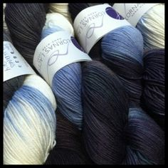 Buldings and Sky, our exclusive colorway from Lorna's Laces!