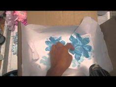 Redo stampin'up! Satin fabric flower tutorial (+playlist)