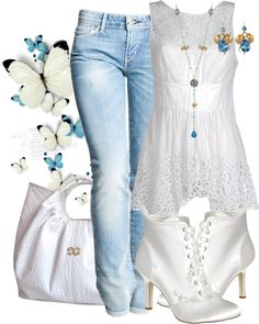 """""""Levi's"""" by victoria1961notags ❤ liked on Polyvore"""