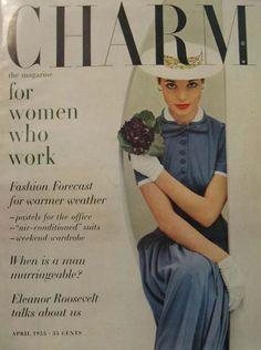 Of 1950s fashion magazines on pinterest vogue covers vogue magazine