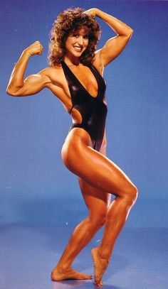 Rachel McLish from 15 women who could pick YOU up - a photo collection of women bodybuilders