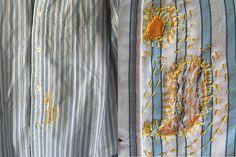 Mended Jeans by Sherri Lynn Wood - daintytime.net