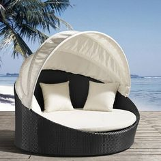 beach chairs, house hunters, beds, dream, beach houses, outdoor, canopi dayb, dog, canopies