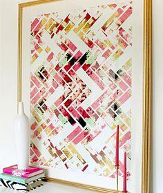 Modern Abstract Geometric Art
