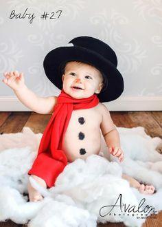 Baby snowman. :)